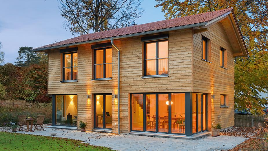 haus rombach von gruber naturholzhaus. Black Bedroom Furniture Sets. Home Design Ideas