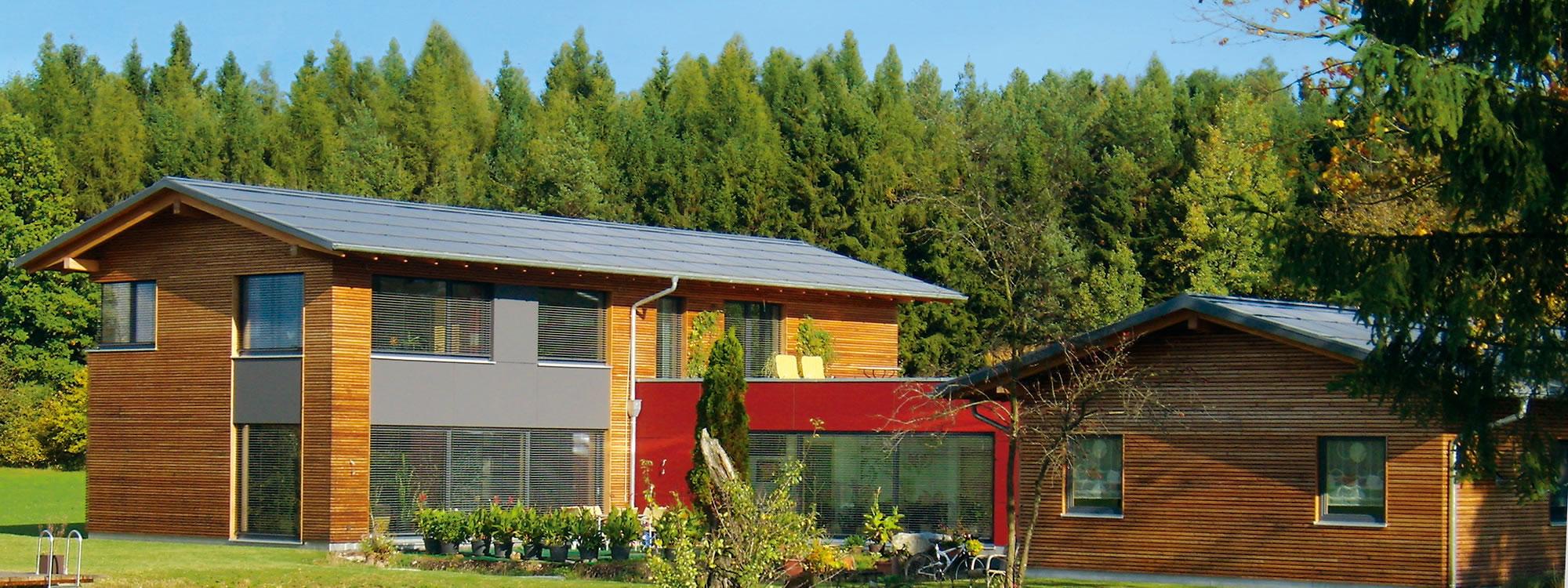 Plusenergiehäuser aus dem Hause Gruber - Energieeffizienz auf höchstem Niveau