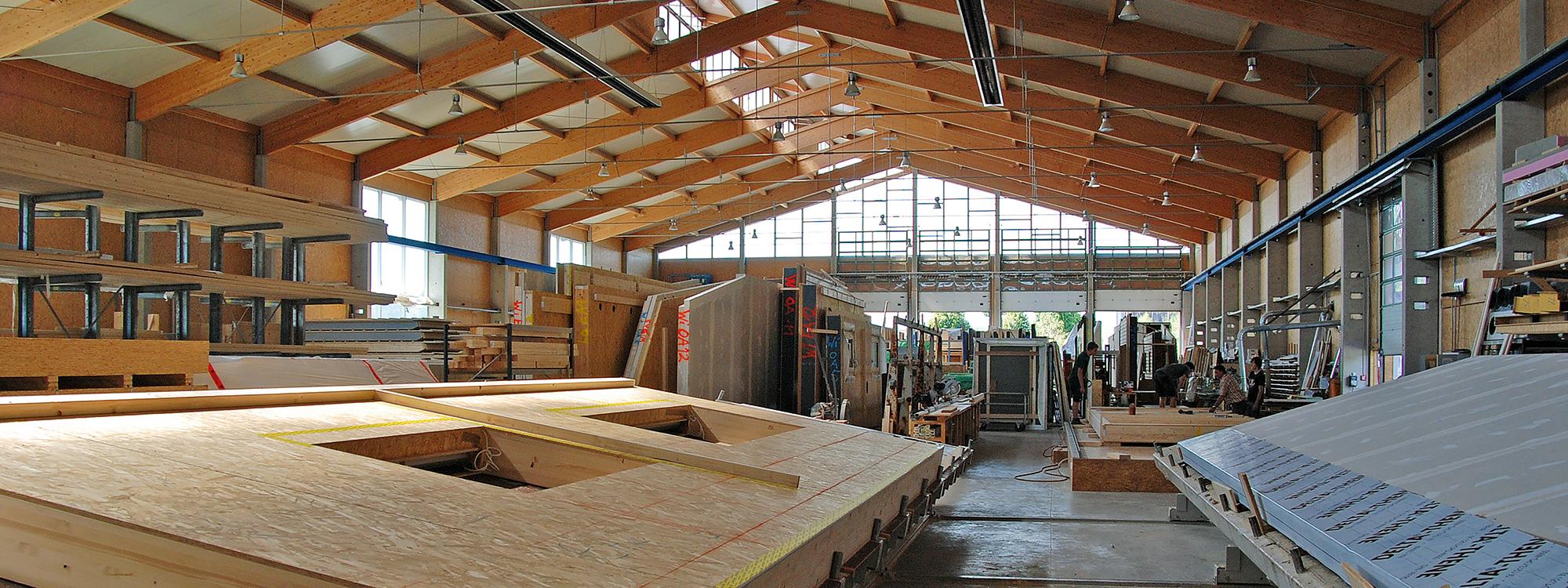 Unser Werk in Roding: Die Gruber Naturholzhausmanufaktur
