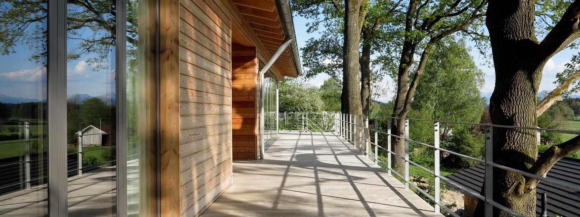 Ökologisch Bauen mit Gruber Naturholzhäusern
