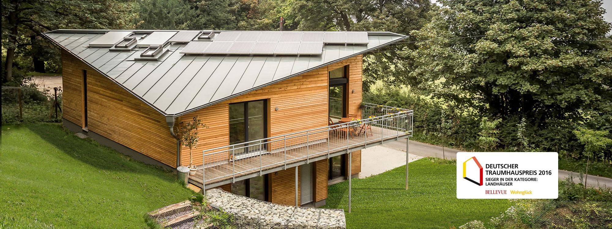 Ein Holzhaus der Firma Gruber überzeugt durch Qualität, Energieeffizienz und Zukunftssicherheit.