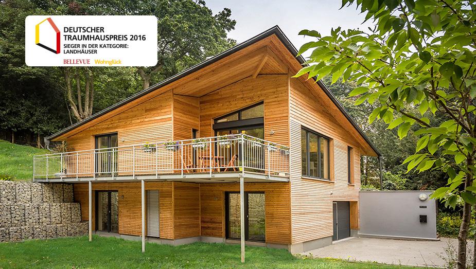 Haus England. Gewinner des Deutschen Traumhauspreises 2016 in der Kategorie Landhäuser