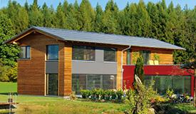 Plusenergiehaus - energieeffizient bauen