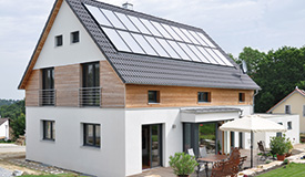 Sonnenhaus - energieeffizient bauen