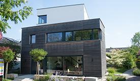 Moderne Holzhäuser - Musterhaus
